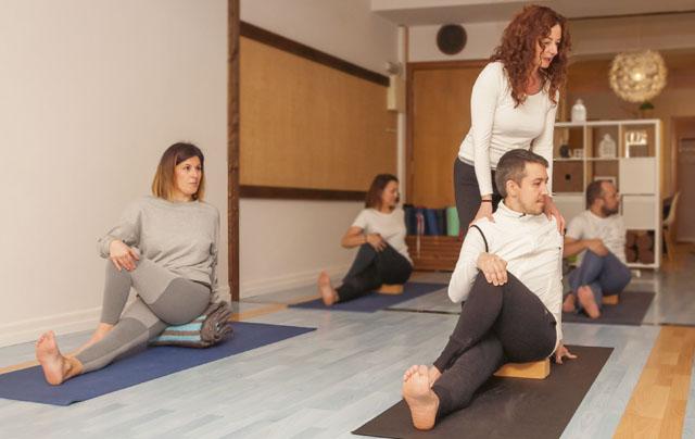 Instructora yoga namaste